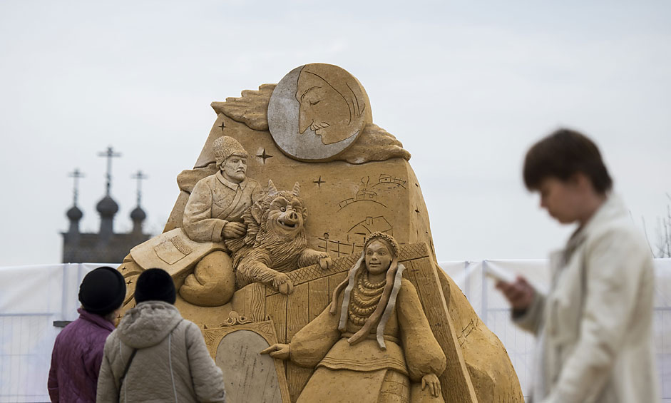 Sand Sculpture exhibition
