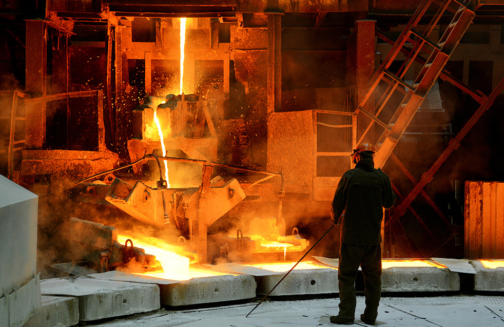 """Преoбразуването на """"Карабашмед"""", едно от най-старите предприятия в областта, бе крайъгълен проект за индустриалния район на Урал."""