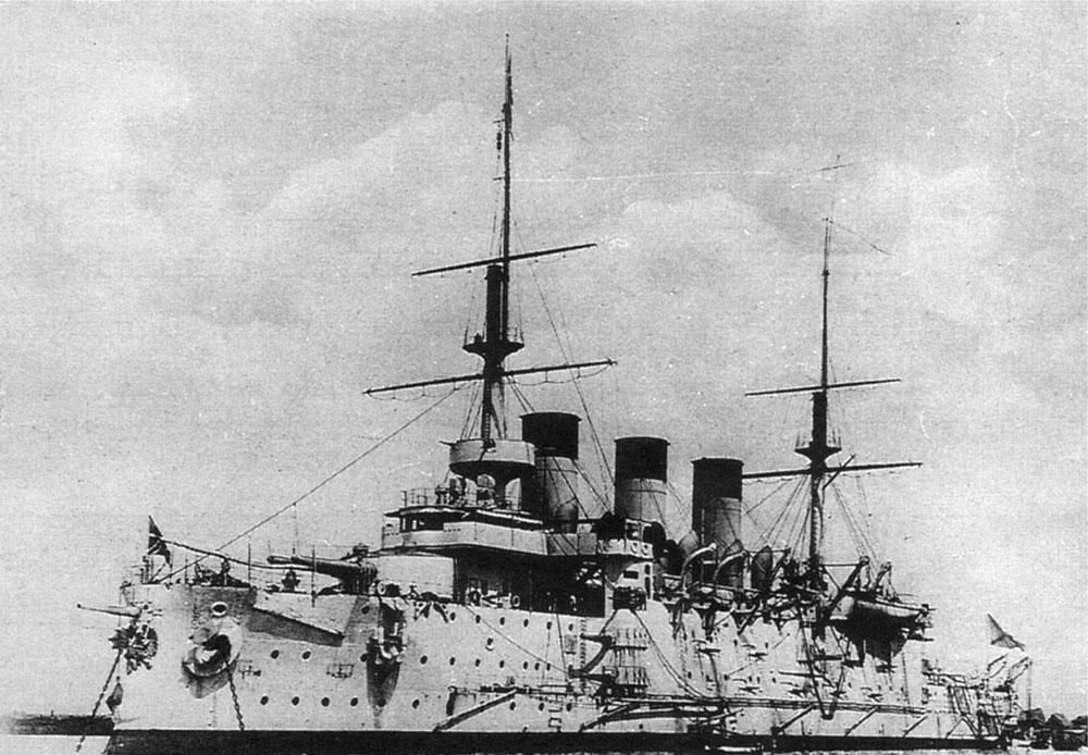 戦艦「オスリャービャ」