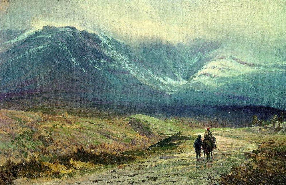 В Крим. След дъжд, Фьодор Василев, 1873 г.
