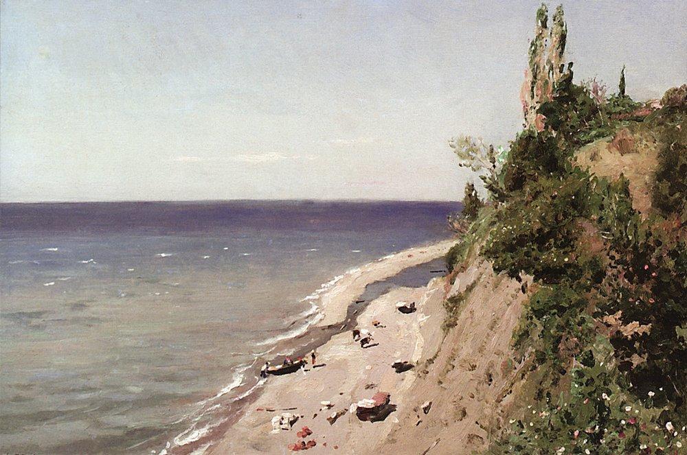 Кримски бряг, Владимир Маковски, 1889 г.