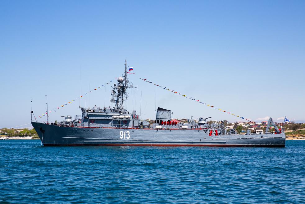 """Клас """"Натя"""" е група миночистачи, построени за Съветските военноморски сили и за износ в чужбина през 1970-те и 1980-те г. Съветското им наименование е """"Проект 266М Аквамарин"""". Корабите са използвани за премахване на мини в океани."""