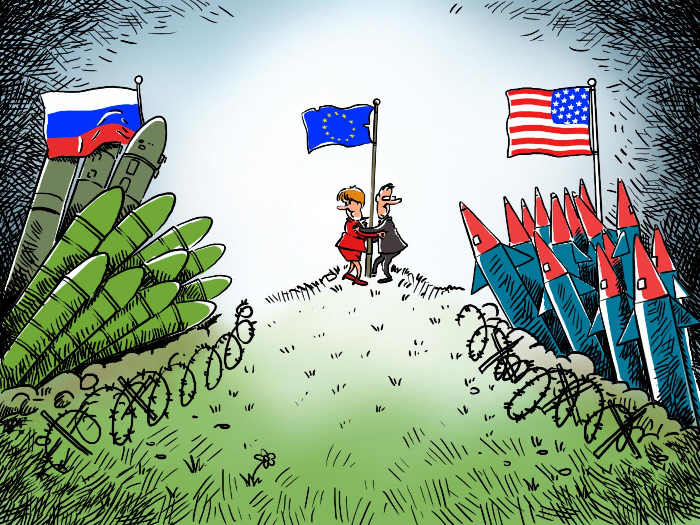 Прекратяването на действието на ДЛРСМО на първо място ще удари именно по руската сигурност. При такъв сценарий САЩ ще получат възможност да върнат своите ракети със среден и малък обсег в Европа.