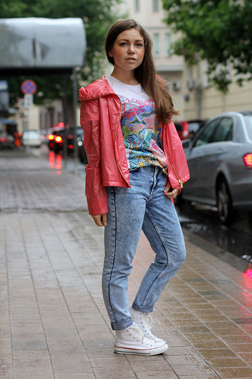 "Tatiana, student""Muscovite style is diverse and unpredictable."""