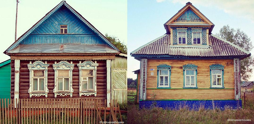5/8. Практична функција декоративних елемената је да покрију простор између прозорског рама и дрвеног зида.