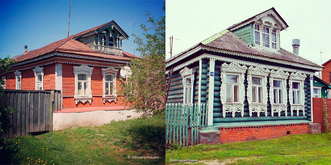 6/8. У 18. веку украсни прозорски рамови постали су неодвојиви део дрвене архитектуре, а мајстори су за њихову израду користили јединствену технику дубореза. Ова вештина и даље се негује у појединим крајевима Русије.