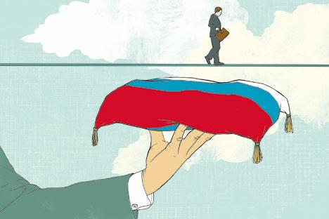Единна Русия е невъзможна без възстановяването на информационните връзки между центъра и провинцията. Ако Москва не знае какво става във Воронеж, а Воронеж няма представа, с какво живее Новосибирск, протича разпад на единното информационно пространство. А това не е нужно нито на федералните, нито на регионалните власти. И нито на централните, нито на местните медии.