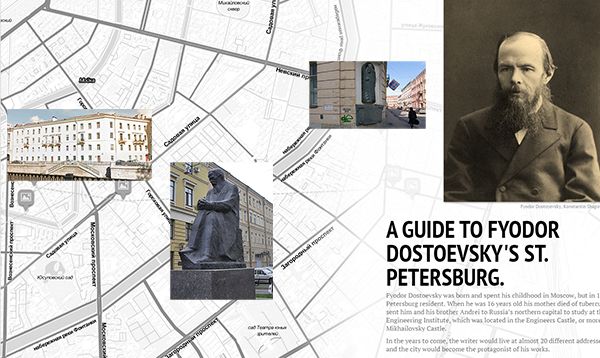 A guide to Fyodor Dostoevsky's St. Petersburg