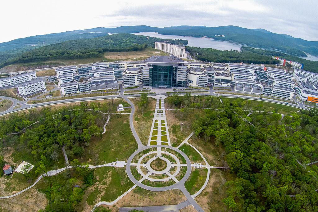 Kampus Dalekoistočnog federalnog sveučilišta, otok Ruski.