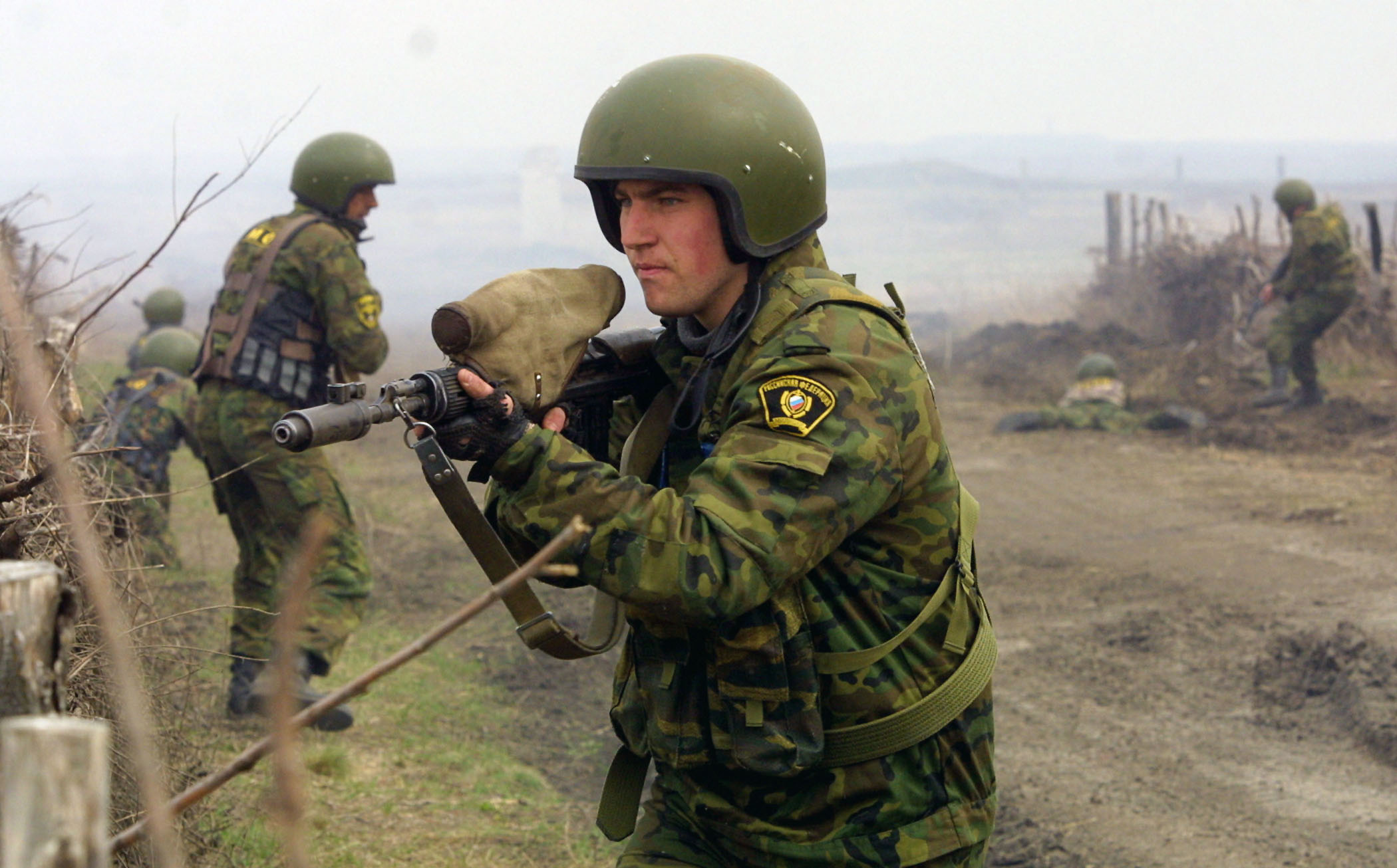Métodos linha-dura resultaram no aumento da brutalidade no Cáucaso Foto: Váleri Matitsin/TASS