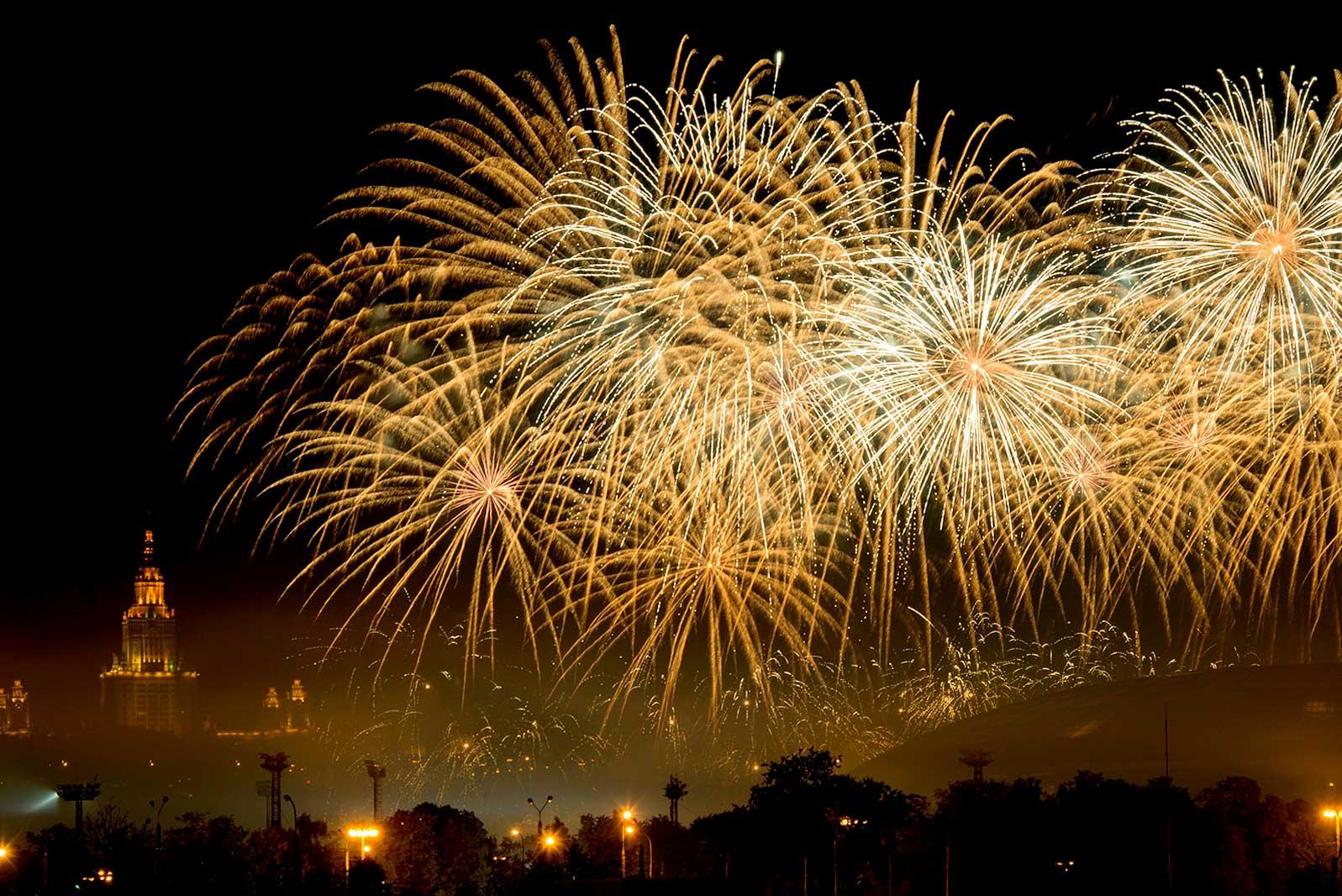 Меѓународен фестивал на огномет во Москва.