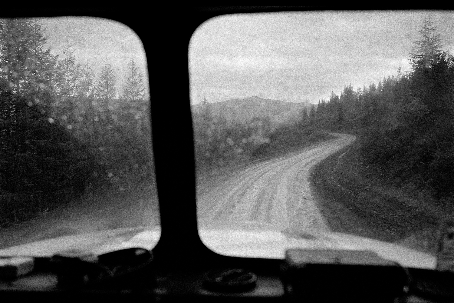 The Kolyma highway is the main road in the Magadan region. The track was built in the 1930-50s, mainly by labor camp prisoners.