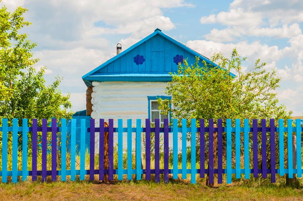 Die Republik Baschkortostan mit der Hauptstad Ufa ist im russischen Ural-Gebirge gelegen. Ihren östlichen Teil bewohnen die wahrscheinlich fröhlichsten Menschen ganz Russlands. // Das Dorf Tepjanowo