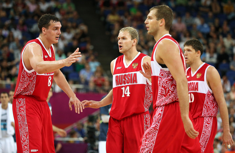 Jogadores russos comemoram durante Olimpíadas de Londres; país pode ficar de fora dos próximos Jogos, em 2016
