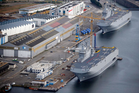 France is now in the process of attempting to sell the carriers to a new buyer, with Egypt said to be the leading prospective buyer.