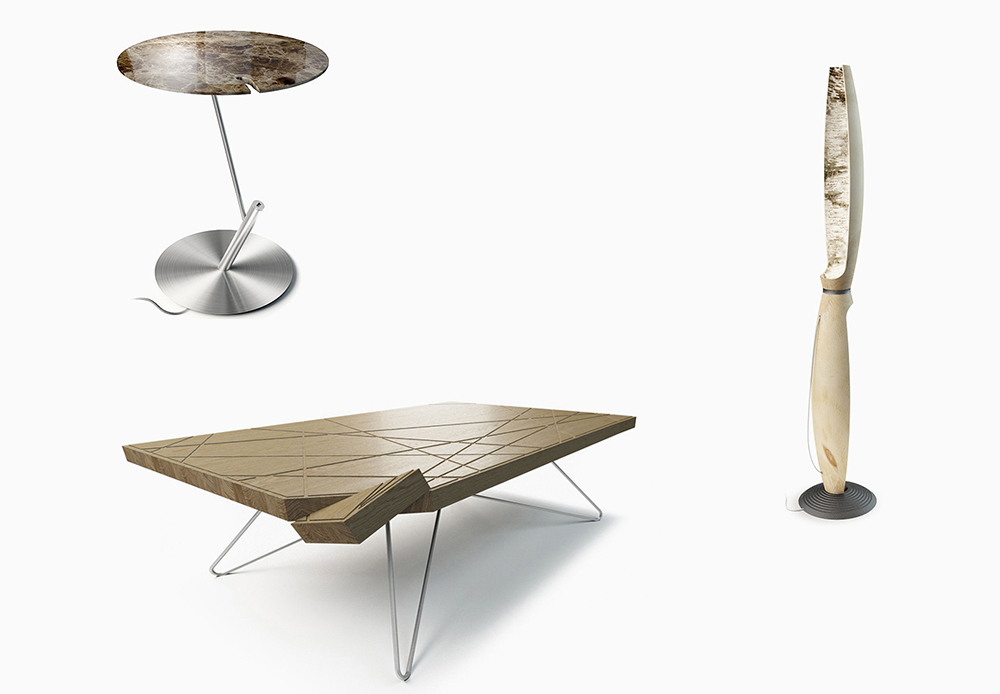 Lllooch  is a Russian company that makes high-tech furniture, such as tables with USB ports for recharging and minimalistic wooden horses. Soon they are opening a showroom in Berlin, Germany, called lllooch STORE, which will sell Russian designs in Europe.