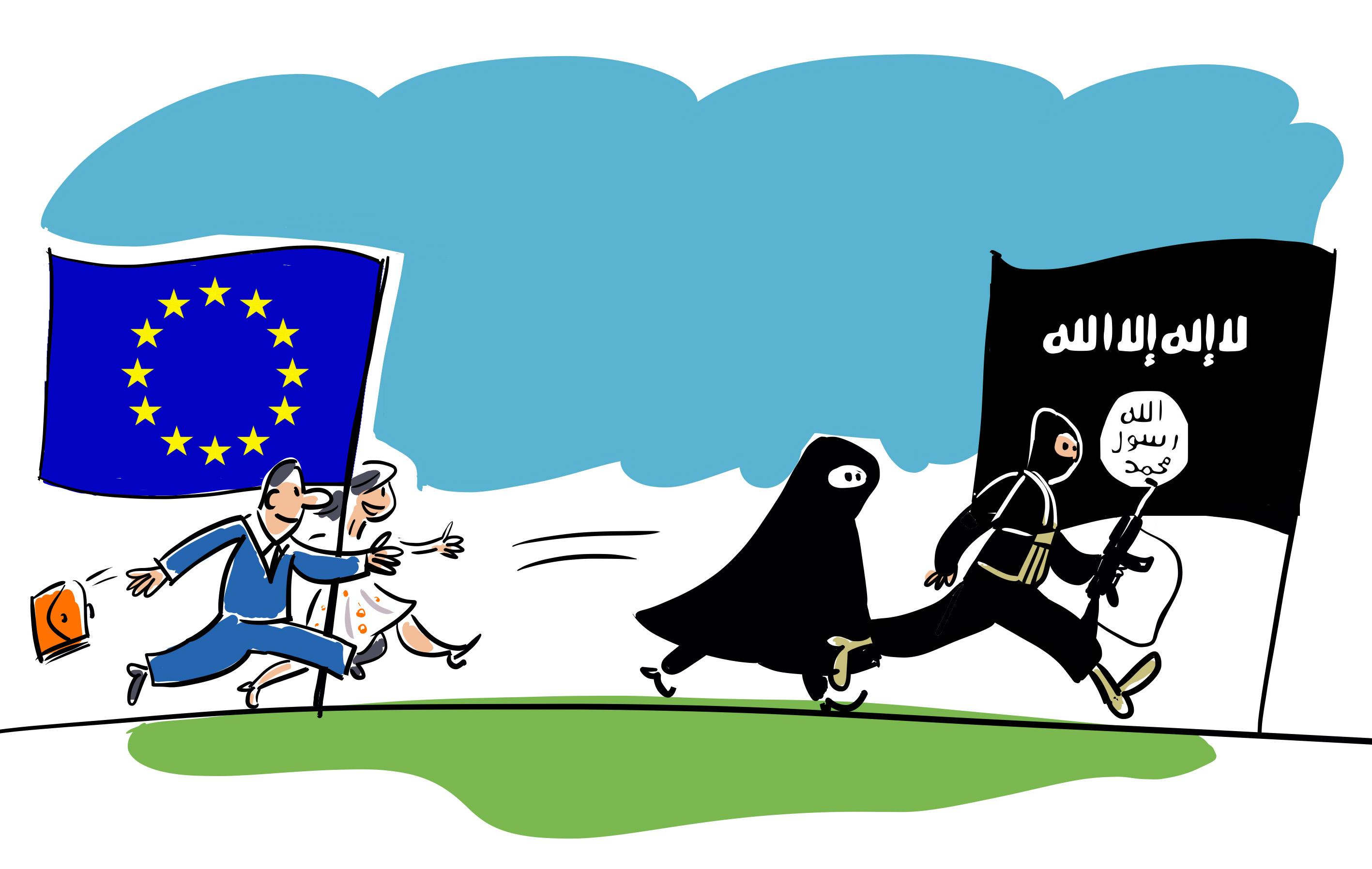 Засега решение на проблема с ИДИЛ няма и на света остава да се бори не със същността на това явление, а само с неговите конкретни проявления във вида на потоци от бежанци, на жестокости и тероризъм.