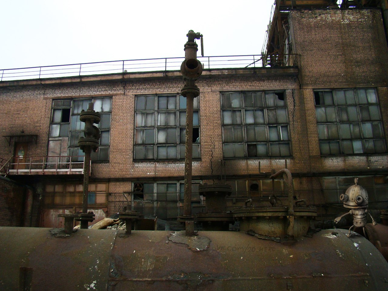 Hey, are you out of ideas for Machinarium 2? Pick any abandoned plant in Russia for inspiration!