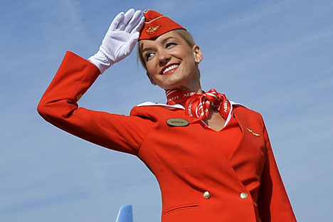 'Secret passengers' to make sure Aeroflot is up to scratch.