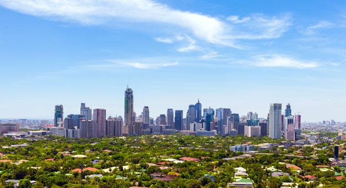 Ibu kota Filipina, Manila.