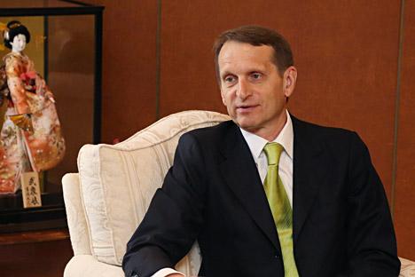 セルゲイ・ナルイシキン下院議長
