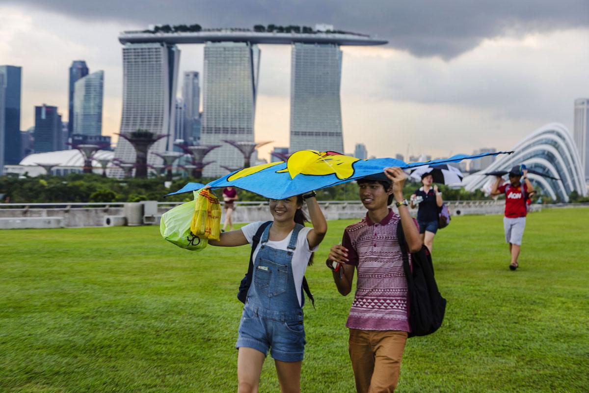 Singaporeans.