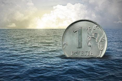 Seit dem Ende der Kursregulierung befindet sich der Rubel im freien Fall.