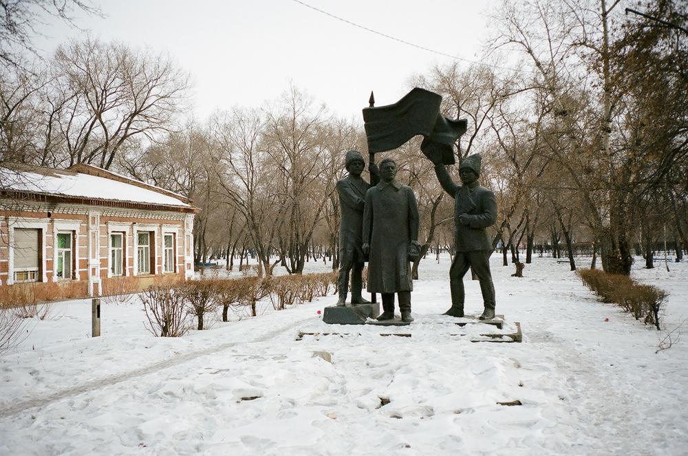 В чест на събитията от Руската гражданска война много улици и паметници са кръстени на местното партизанско движение.