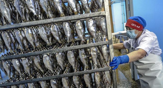Rússia assinou acordo em março para fornecer pescados, sobretudo bacalhau, ao país.
