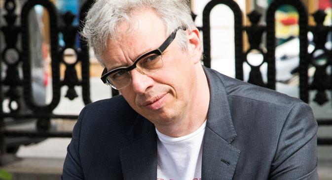 Bart De Baere, curatore della biennale di Mosca (Foto: Natasha Polskaya)