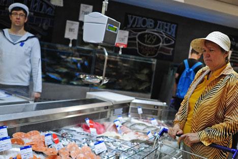 Russland weitet Lebensmittel-Embargo aus.