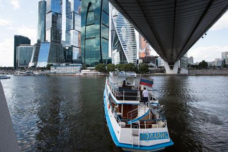Moscow City bietet ausreichend Möglichkeiten für seine Bewohner.