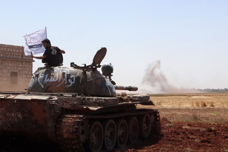 Kelompok oposisi Suriah.