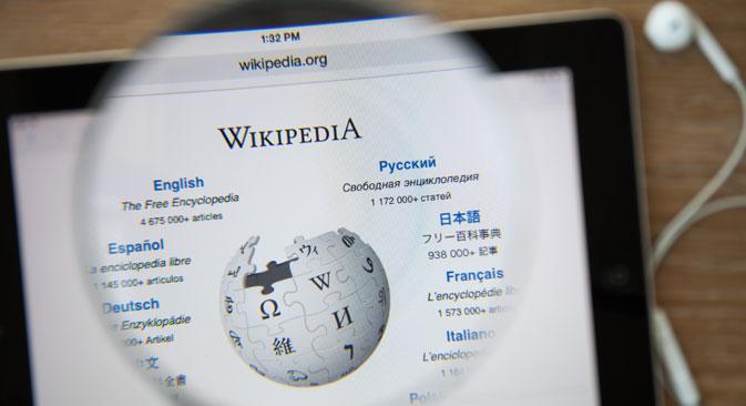 """La versione russa di Wikipedia continuerà a restare attiva dopo aver modificato la pagina contenente un articolo sul """"charas"""", vietato da un tribunale di Astrakhan (Foto: Shutter Stock/Legion Media)"""