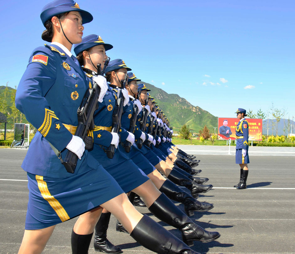 "The Russian military will be the last contingent to march at the World War II Victory Day parade in Beijing on September 3, RIA Novosti reports. ""History shows that closing a parade is a very honorable mission,"" a parade participant told the agency. Featured above is a Chinese People's Liberation Army unit."
