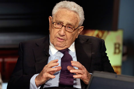 Kissinger emphasized that the Russia-Ukraine stand-off could not be simply confined to an analysis of rivalry between two states.