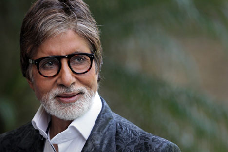 Bollywood actor Amitabh Bachchan.