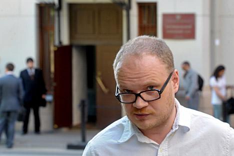 Il giornalista Oleg Kashin