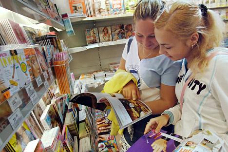 Edipresse kam 2003 nach Russland und verlegte mehr als 30 Magazine für Frauen.