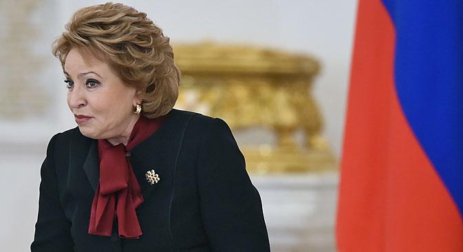 Valentina Matviyenko. Source: Kommersant