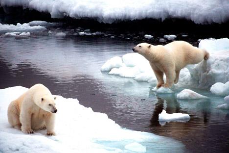 Lagos termocásticos são formados pelo derretimento do permafrost