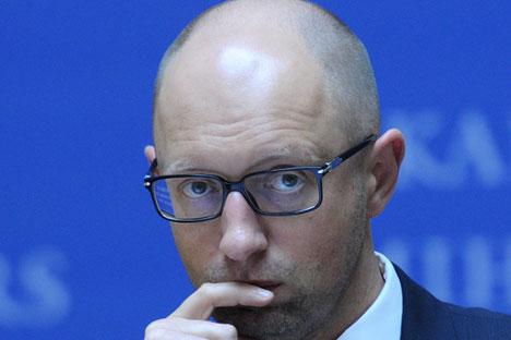 Le premier ministre ukrainien s'est pour le moment abstenu de tout commentaire.