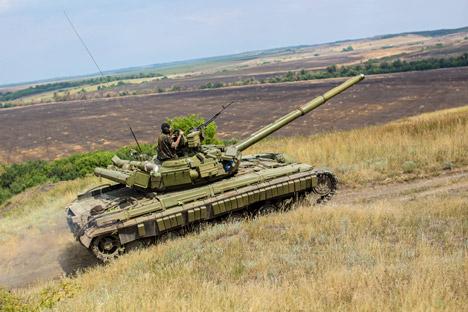 El T-64.