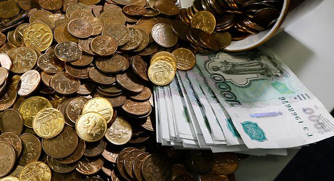 Sul rublo russo pesa una forte svalutazione