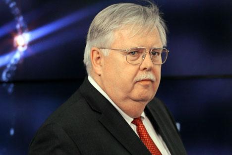 U.S. Ambassador to Russia John F. Tefft.