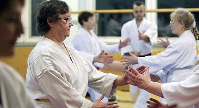 Martial arts can help senior citizens improve their balance