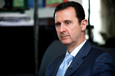 Syrian President Bashar al-Assad. Source: AFP/East News