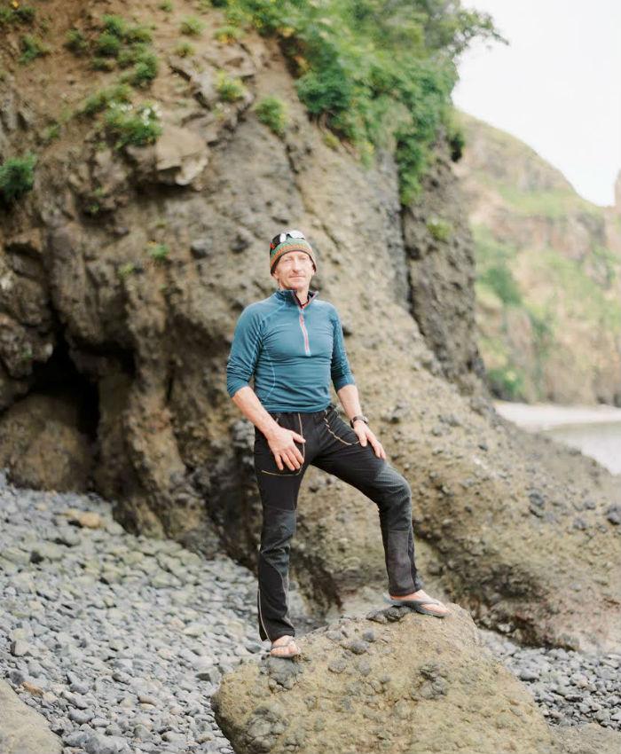 """""""Auf unserer Kajak-Tour trafen wir einen coolen Deutschen, der seit 2 Monaten durch Russland reiste. Das war toll! Im Frühling war er im Nepal, um bei den Aufräumarbeiten nach dem Erdbeben zu helfen. Er war reich an Erfahrung und hatte viel zu erzählen, übers Reisen und über Russland."""""""