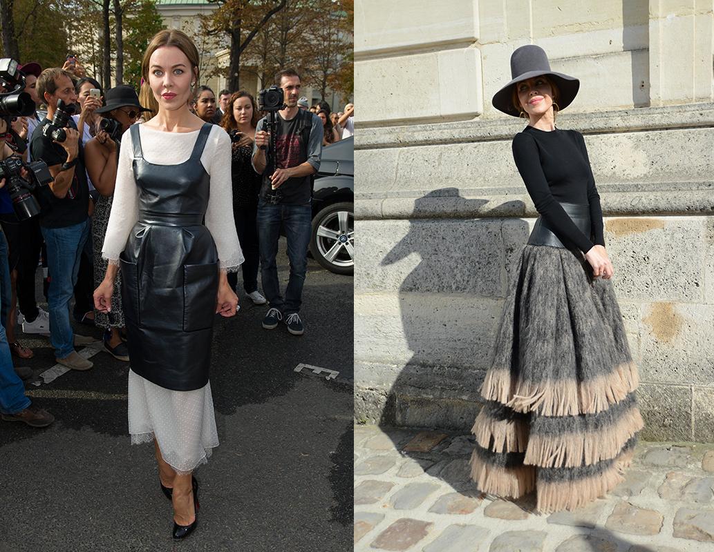 Uljana Sergeenko. Ove godine njezina kolekcija prezentirana je tijekom Haute-Couture Paris Fashion Week. Kao žena milijardera Daniila Hačaturova, živi iznimno bogat društveni život te posjećuje svaki modni događaj. Njezini fantastični proizvodi se dosta razlikuju od konvencionalne mode, a u čitavom svijetu mode govore o njezinom usklađenom dizajnu i osobnom uličnom stilu.