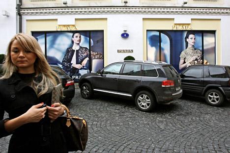 Die Zahl der wohlhabenden russischen Bürger ist gesunken in den letzten zwei Jahren.